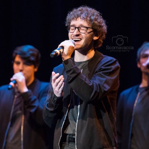 Samuel at ICCA Quarter Finals 2017